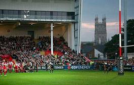 Disfrute de un tour tras bambalinas en la sede de Gloucester Rugby