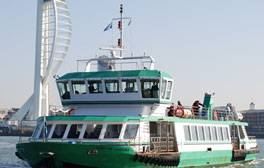Enjoy a history lesson and a cruise on a Gosport Ferry