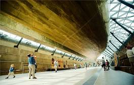 Venture aboard the Cutty Sark