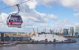 'Fly' over the River Thames on the Emirates Air Line