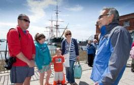 Take a free walking tour of Portsmouth with a city Greeter