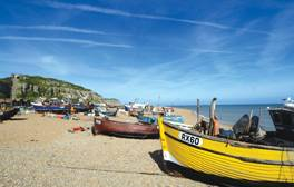 Discover why artists and chefs alike love Hastings' fishing fleet