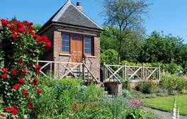 Visit the hidden hedged gardens of Hill Close Gardens