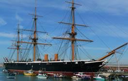 Enjoy a seafaring adventure at Portsmouth Historic Dockyard