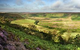 Take in the drama of the Hole of Horcum on a rural escape