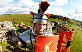 Get hands on with history at sites across Hadrian's Wall