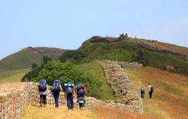Take on the challenging Hadrian's Wall Path National Trail