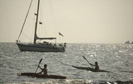 Learn to sail, windsurf or canoe on the Isle of Wight