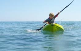 Apprenez à faire du kayak dans la mer de la baie de St Austell