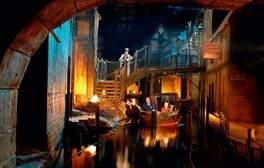 See a literary legend's work to life at Dickens World