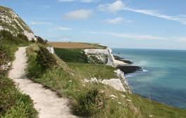 Walk along the iconic White Cliffs of Dover