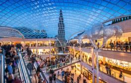 Einkaufsbummel in Leeds zwischen den Spielen