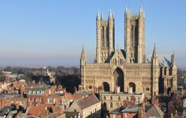 Tour the tower of Lincoln Cathedral