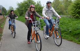 Hire a bike for a cycle in Lincoln
