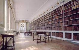 Browse the bookshelves at the Medieval and Wren Libraries