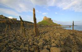 Take a modern day pilgrimage to the Holy Island of Lindisfarne