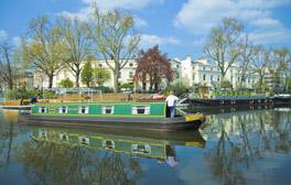Take a boat trip in Little Venice
