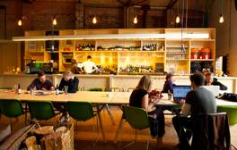 Eat, drink, shop and play till late at Camp and Furnace