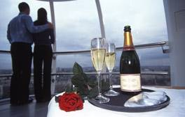 Indulge with Champagne on the London Eye