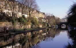 Float along London's Regent's Canal