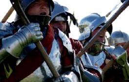 Observa cómo la historia cobra vida en el campo de batalla de Bosworth