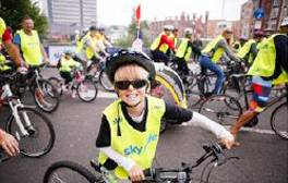 Take a traffic-free bike ride around Leicester