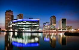 Go behind the scenes at MediaCityUK's BBC Tour