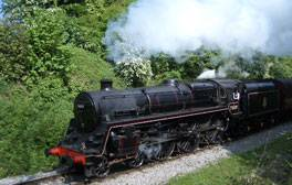 Le Midland Railway, à Butterley