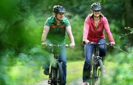 Pedal along 100 miles of off-road cycling tracks