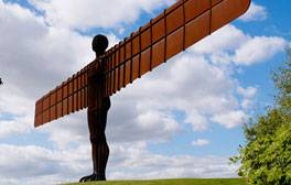 Visit the Angel of the North