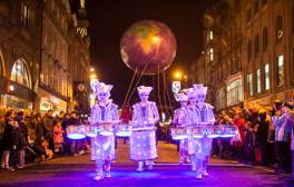 Party at NewcastleGateshead's New Year's Eve Winter Carnival