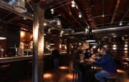 Drink freshly brewed beer at The Bridge Tavern