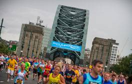 Test your fitness levels at The Great North Run