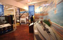 Engross yourself in dramatic history at the St. Barbe Museum