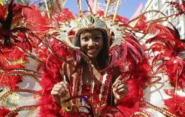 Join the parade at Notting Hill Carnival