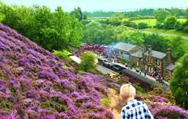 Ride through the North York Moors National Park in style