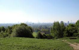 Fly a kite on Parliament Hill and admire the views of London