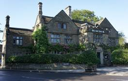 Enjoy an evening of fine dining at The Peacock at Rowsley