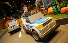 Run wild at LEGOLAND Discovery Centre Manchester
