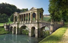 Pop the question on a Palladian bridge