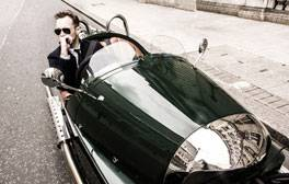 Enjoy scenic holiday routes in style with a Morgan car