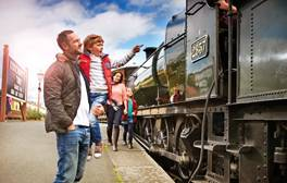 Step back in time on the Severn Valley Railway