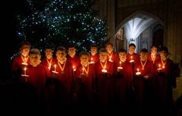 Listen to the choirboys at Winchester Cathedral
