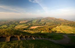 Be inspired by the grand Malvern Hills