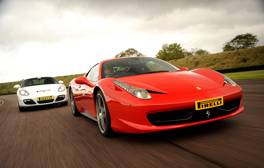 Get in the fast lane at Thruxton Motorsports Centre