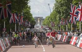 Join a mass cycle ride in Central London with RideLondon