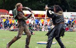 Meet a legendary outlaw at the Robin Hood Festival