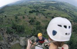 Rock Climb in the Peak District