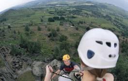 Rock Climb in the Peak District