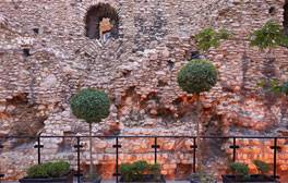 Go back in time and discover the original Roman City walls